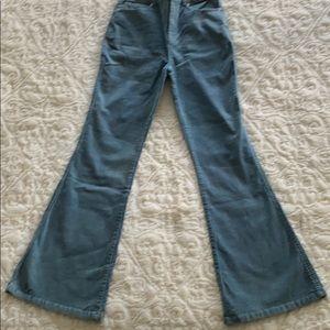 NWOT corduroy flare pants